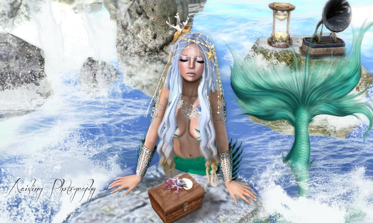 ~Tableau Vivant~ Longfall hair & Mermaid Headdress - June Arcade 2014